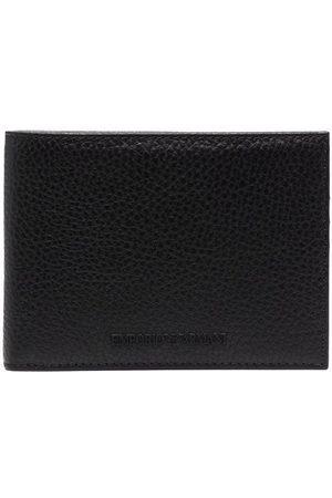 Emporio Armani Man Plånböcker - Dubbelvikt plånbok med struktur