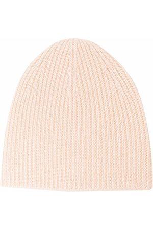 Totême Kvinna Mössor - Ribbed-knit cashmere beanie