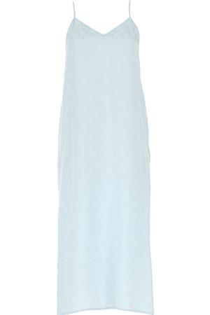 Palm Angels Kvinna Ärmlösa klänningar - Sleeveless dress with logo