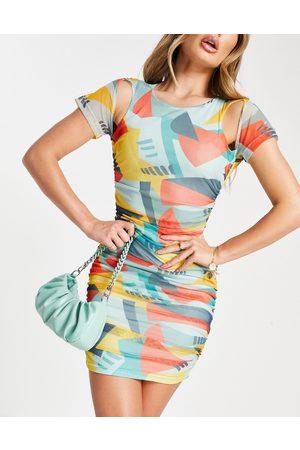 EI8TH HOUR – Geometriskt mönstrad miniklänning-Flera