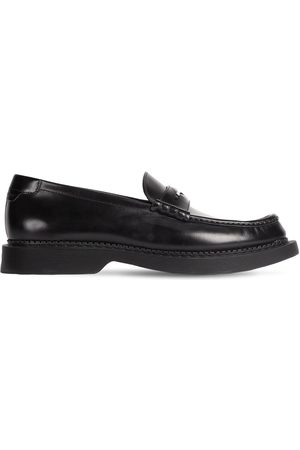 Saint Laurent Teddy 10 Penny Loafers