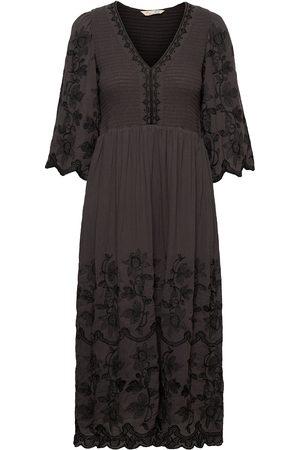 ODD MOLLY Bridget Dress Knälång Klänning Svart