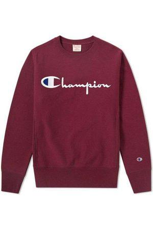 Champion Reverse Weave Script Logo Crew Sweatshirt