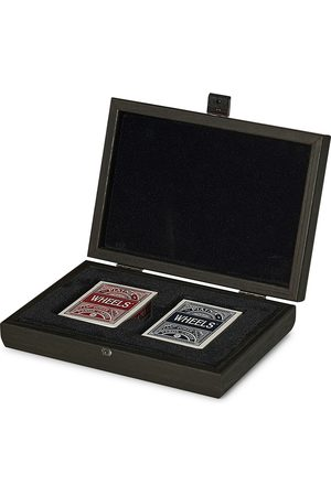 Manopoulos Wooden Card Case Black