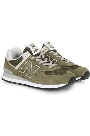 New Balance Man Sneakers - 574 Sneaker Olive