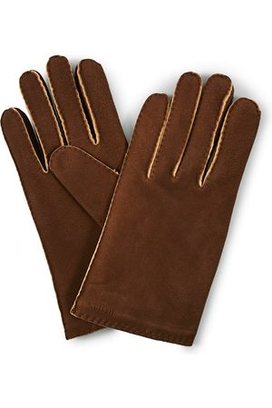 Hestra Philippe Chamoise Wool Lined Glove Brown