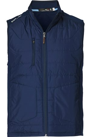 RLX Ralph Lauren Recycled Performance Wool Vest French Navy