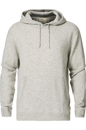 People's Republic of Cashmere Cashmere Hoodie Ash Grey