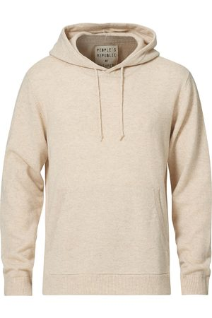People's Republic of Cashmere Cashmere Hoodie Oatmilk