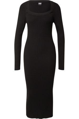 Urban Classics Stickad klänning