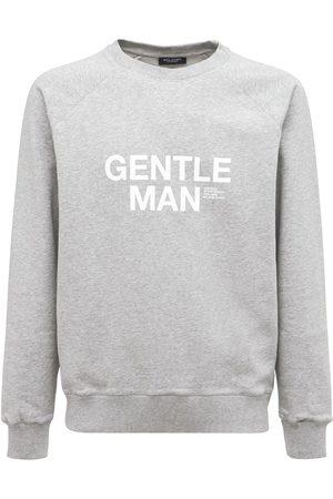 RON DORFF Man Sweatshirts - Gentleman Print Organic Cotton Seatshirt