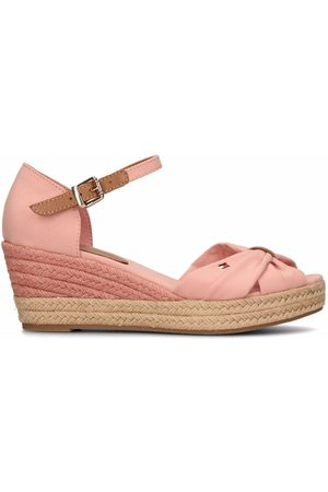 Tommy Hilfiger Opened-toe mid-wedge espadrilles