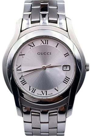 Gucci Pre-owned Vintage Stainless Steel 5500 M Wrist Watch