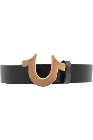 True Religion Man Bälten - Horseshoe Logo Belt