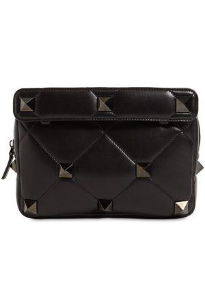 VALENTINO GARAVANI Man Örhängen - Ruthenio Studs Leather Crossbody Bag