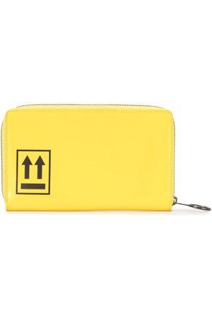 OFF-WHITE Plånbok med dragkedja