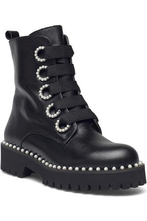 Dune Kvinna Ankelboots - Purla Shoes Boots Ankle Boots Ankle Boot - Flat