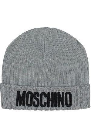 Moschino Mössa - Ull/Akryl - Gråmelerad