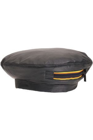 K-WAY R&D Reversible Leather Basque Hat