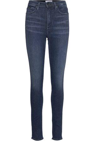 Calvin Klein High Rise Skinny Skinny Jeans Blå