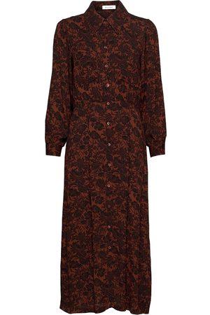 Rodebjer Elyse Maxiklänning Festklänning Brun