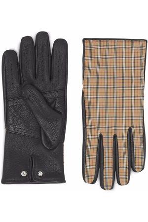 Burberry Vintagerutiga handskar