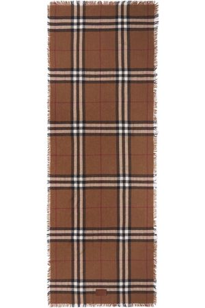 Burberry Sjalar - Check-pattern scarf