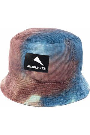 MAUNA KEA Man Hattar - Tie dye-print logo-patch bucket hat