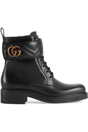 Gucci Kvinna Ankelboots - Women's ankle boot with Double G