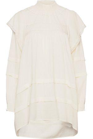 Soaked in Luxury Kvinna Tunika klänningar - Slayhana Tunic Dress Kort Klänning Creme