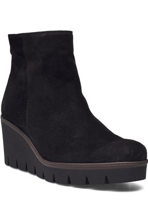 Gabor Ankle Boot Shoes Boots Ankle Boots Ankle Boot - Flat
