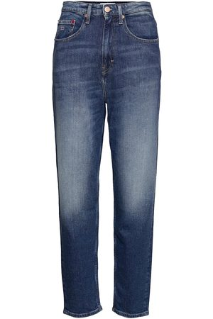Tommy Jeans Mom Jean Uhr Tprd Ae632 Mbc Jeans Tapered Jeans Blå