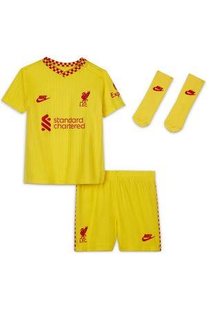 Nike Träningsoveraller och set - Fotbollsställ Liverpool FC 2021/22 (tredjeställ) för baby/små barn