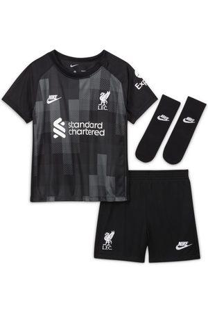 Nike Träningsoveraller och set - Fotbollsställ Liverpool FC 2021/22 Goalkeeper för baby/små barn