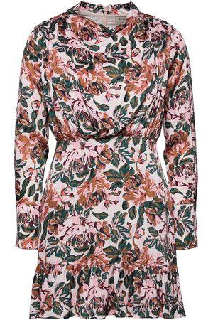 By Malina Lively Dress Kort Klänning Multi/mönstrad
