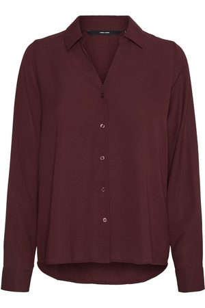 VERO MODA Kvinna Långärmade skjortor - Long Sleeved Shirt Kvinna