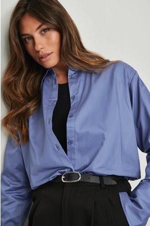 NA-KD Classic Kvinna Casual skjortor - Oversize skjorta