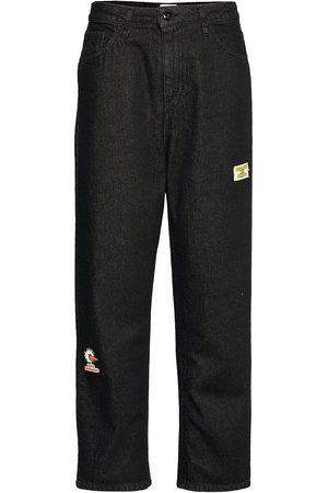 Bobo Choses Kvinna Mom jeans - Mom Jeans Byxa Med Raka Ben Svart
