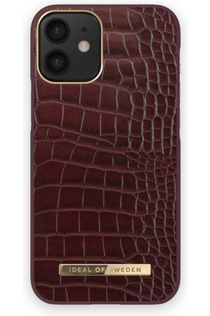 IDEAL OF SWEDEN Atelier Case iPhone 12 MINI Scarlet Croco