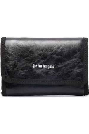 Palm Angels Man Plånböcker - Plånbok med skrynklad struktur