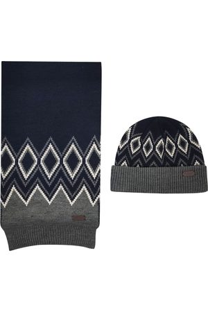 Barbour Hat and scarf