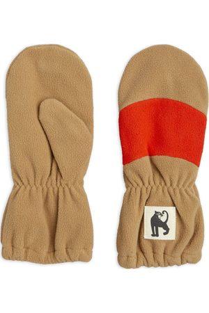 Mini Rodini Fleece Mittens Stripe Handskar