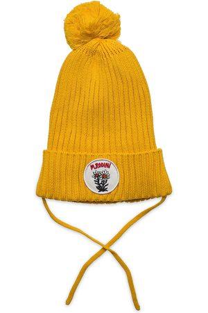 Mini Rodini Edelweiss Pompom Hat Accessories Headwear Hats Beanie