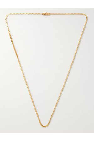 TOM WOOD Plated Chain Necklace