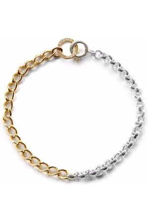 NORMA JEWELLERY Man Armband - Aquila tvåfärgat armband