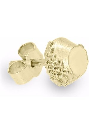 HARRIET MORRIS Man Örhängen - Glitch örhänge i 9K gult guld