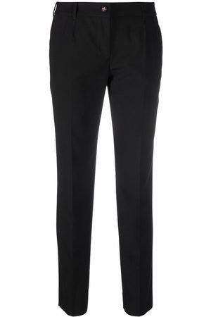 Dolce & Gabbana Kvinna Dressade byxor - Slacks i stretch