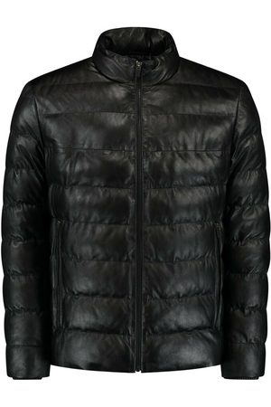 Leather Hype Short leather puffer Venusio Jacket