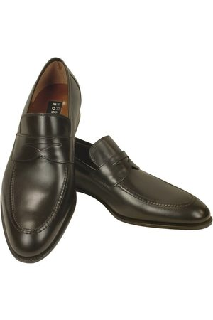 Fratelli Rossetti Calf Leather Penny Loafer Shoes