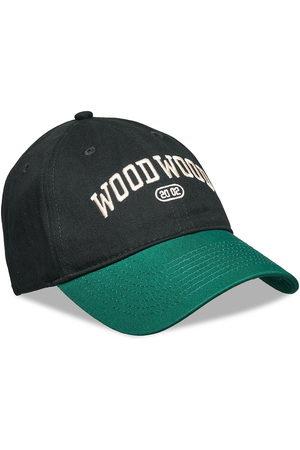 WoodWood Man Kepsar - Brian Ivy Cap Accessories Headwear Caps Grön